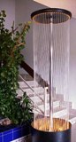 fountain water curtain