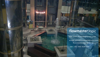indoor fountain - pakistan - flowmasterjopic