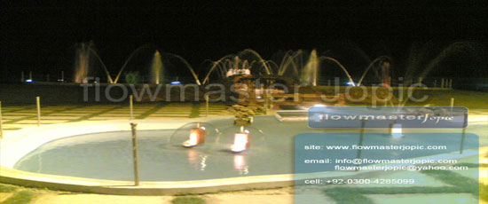 Musical Fountain Pakistan
