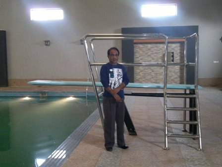 Diving Board at DHA Sports Club Lahore Pakistan