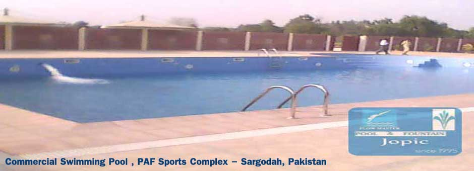 commercial swimming pool DHA Lahore, Pakistan